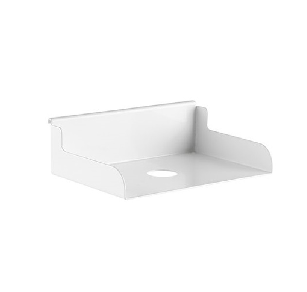 Brateck, FILE, HOLDER, Weight, Capacity, 3kg-Matte, White,