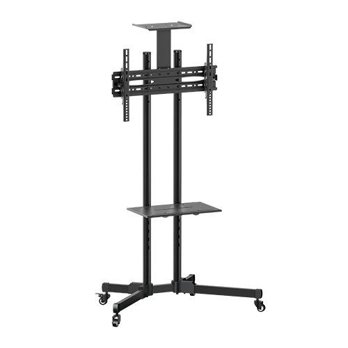 Brateck, Portable, TV, Cart, with, top, and, centre, shelf, for, 37, -70, LCD, Screen,