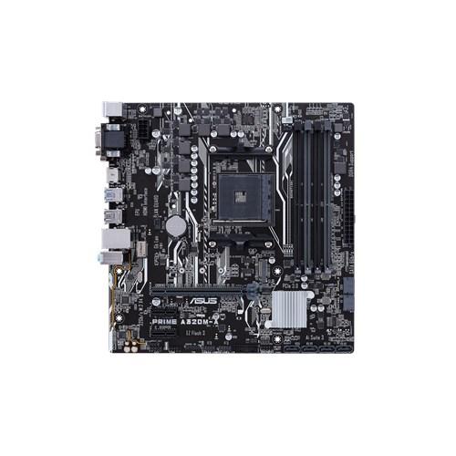 ASUS, AMD, AM4, A320M-A/CSM, uATX, Motherboard, LED, lighting, DDR4, 3200, MHz, 32Gb/s, M.2, SATA, 6Gb/s, HDMI, USB, 3.0,