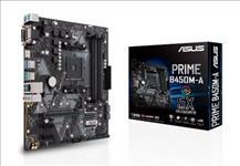 Asus, PRIME, B450M-A, AM4, mATX, MB, 4xDDR4, 3xPCIe, 4xSATA, 1xM.2, RAID, 6xUSB3, 1xHDMI, 1xDVI, 1xVGA,