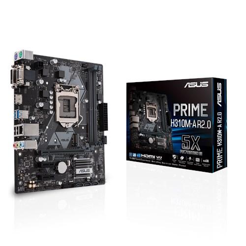 ASUS, PRIME, H310M-A, R2.0, Intel, LGA-1151, mATX, Motherboard,