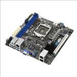ASUS, P10S-I, MB, Socket, 1151, Intel, C232, 4x, DDR4, 1x, PCIE3.0, x16, 4x, PCI, 6x, SATA3, 4x, USB3.0, VGA, ATX, Dual, GbE,