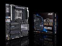 ASUS, X299, SAGE/10G, WS, ATX, MB, 8xDDR4, 5xPCIe, 1xM.2, 6xSATA, RAID, 5xUSB3.0, 1xUSB, TypeC, 2, x, Intel, LAN, port,