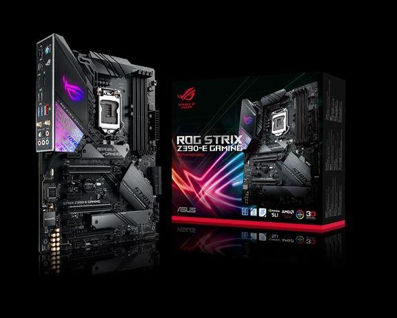 ASUS, ROG, STRIX, Z390-E, GAMING, Intel, Z390, LGA, 1151, ATX, Gaming, MB, DDR4, 4266, 11ac, Wi-Fi, Dual, M2, For, 8th/9th, Gen, Pentium/C,