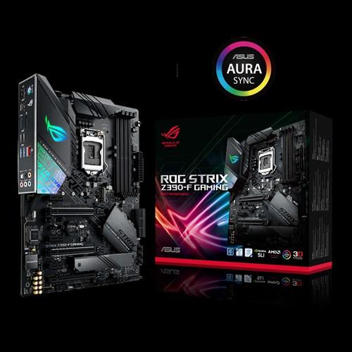 ASUS, ROG, STRIX, Z390-F, GAMING, Intel, Z390, LGA, 1151, ATX, Gaming, MB, DDR4, 4266, Dual, M2, For, 8th/9th, Gen, Pentium/Celeron, CPUs,