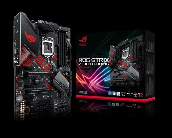 ASUS, ROG, STRIX, Z390-H, GAMING, Intel, Z390, LGA, 1151, ATX, Gaming, MB, DDR4, 4266, Dual, M2, For, 8th/9th, Gen, Pentium/Celeron, CPUs,