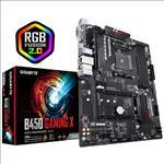 Gigabyte, B450, GAMING, X, Ryzen, Gen2, AM4, ATX, Motherboard, 4xDDR4, 4xPCIE, 1xM.2, DVI, HDMI, RAID, GbE, LAN, 6xSATA, 4xUSB3.1, CF, RGB,