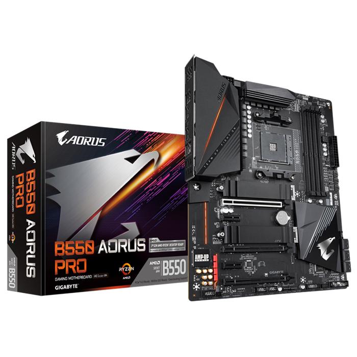 GIGABYTE, B550, AORUS, PRO, MB, 4xDDR4, 6xSATA, 2xM.2, USB-C, ATX, 3YR,