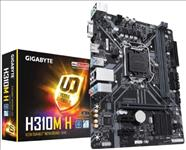 GIGABYTE, H310M-H, 2.0, MB, 1151, 2xDDR4, 4xSATA, USB3.1, uATX, 3YR,