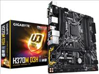 GIGABYTE, H370M, D3H, MB, 1151, 4xDDR4, 6xSATA, 2xM.2, USB3.1, uATX, 3YR,