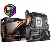 New, Gigabyte, TRX40, Master, ATX, MB, TRX40, AMD, ThreadRipper, 3, 8xDDR4, 5xPCIe, 3xM.2, RAID, 1xIntel, GbE, LAN, WiIFi, BT, CF/SLI, 2xUSB,