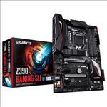 Gigabyte, Z390, GAMING, SLI, LGA1151, 9Gen, ATX, MB, 4xDDR4, 6xPCIe, HDMI, 2xM.2, 6xSATA, RAID, Intel, GbE, LAN, SLI, CF, 10xUSB3.1, 2xUSB2.,