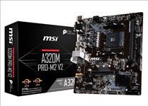 MSI, A320M, Pro, M2, AMD, m-ATX, Motherboard, -, AM4, Ryzen, 2xDDR4, 3xPCI-E, 1xM.2, 6xUSB3.1, 6xUSB2.0, 1xDVI-D, 1xVGA, 1xHDMI, LS,