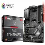 MSI, B450, TOMAHAWK, AM4, Ryzen, ATX, Motherboard, 4xDDR4, 5xPCIE, 1xM.2, DVI, HDMI, RAID, GbE, LAN, 6xSATA, 1xUSB-C, 5xUSB3.1,