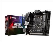 MSI, Z390I, GAMING, EDGE, AC, Mini-ITX, Motherboard, -S1151, 9Gen, 2xDDR4, 1xPCI-E, DP/HDMI, 2xM.2, 4xSATA, RAID, USB-C, 4xUSB3.1, RGB,