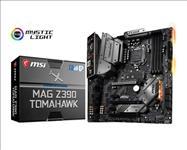 MSI, MAG, Z390, TOMAHAWK, ATX, Motherboard, -S1151, 9Gen, 4xDDR4, 3xPCI-E, DP/HDMI, 2xM.2, Dual, LAN, 6xSATA, RAID, CF, 4xUSB3.1, RGB,