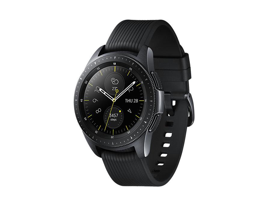 Samsung, Galaxy, Watch, 42mm, Black,