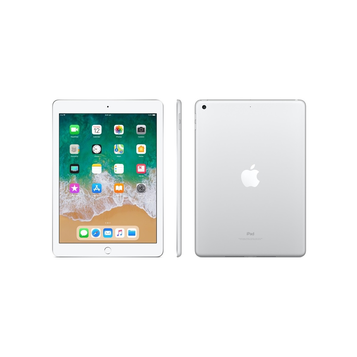 Apple, iPad, 9.7, 32GB, Silver, 4GX, Tablet, G6,
