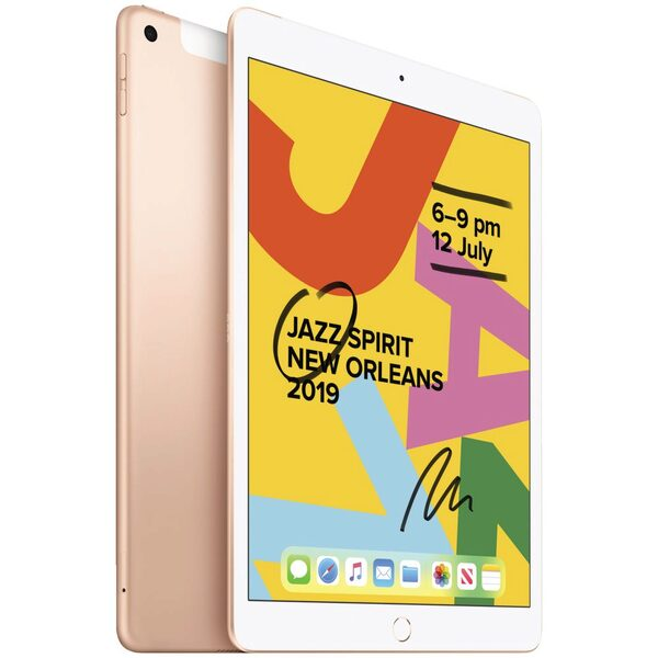 Apple, iPad, 10.2, G7, 32GB, 4GX, Gold,