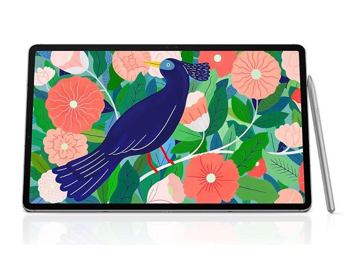 Samsung, TAB, S7+, 5G, 256GB, SILVER,