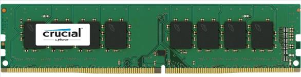 Crucial, 4GB, DDR4, 2666, MT/s, (PC4-21300), CL19, SR, x8, UDIMM, 288pin, [CT4G4DFS8266],