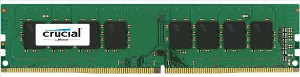 Crucial, DDR4, 8GB, 2400Mhz, (PC-19200), CL17, SR, x8, Unbuffered, Non-ECC, Desktop, Memory, [CT8G4DFS824A],