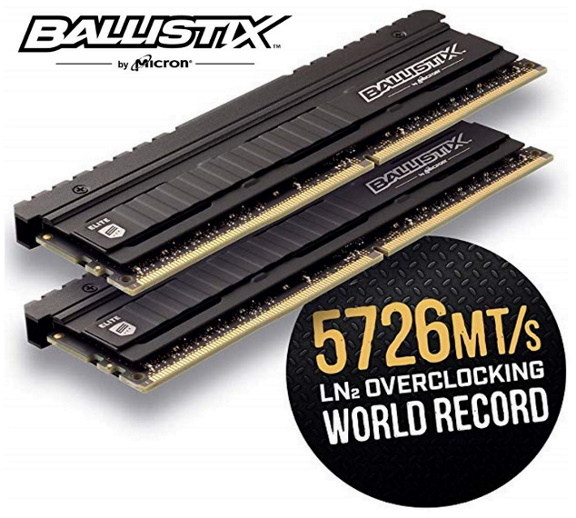 Crucial, Ballistix, Elite, 16GB, (2x8GB), DDR4, UDIMM, 4000MHz, CL18, 18-19-19-39, 1.35V, Black, Heat, Spreader, AMD, Ryzen, Intel, XMP, 2,