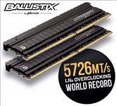 Crucial, Ballistix, Elite, 16GB, (2x8GB), DDR4, UDIMM, 4000MHz, CL18, 18-19-19-39, 1.35V, Black, Heat, Spreader, AMD, Ryzen, Intel, XMP, 2,