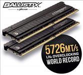 Crucial, Ballistix, Elite, 32GB, (4x8GB), DDR4, UDIMM, 4000MHz, CL18, 18-19-19-39, 1.35V, Black, Heat, Spreader, AMD, Ryzen, Intel, XMP, 2,