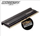 Crucial, Ballistix, Elite, 8GB, (1x8GB), DDR4, UDIMM, 3600MHz, CL16, 16-18-18, 1.35V, Black, Heat, Spreader, AMD, Ryzen, Intel, XMP2.0, PC,