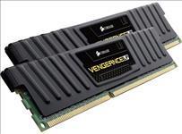 Corsair, Vengeance, Low, Profile, 8GB, (2x4GB), DDR3, 1600MHz, C9, Desktop, Gaming, Memory, Black,