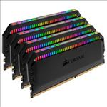 Corsair, Dominator, Platinum, RGB, 64GB, (4x16GB), DDR4, 3000MHz, CL15, DIMM, Unbuffered, 15-17-17-35, XMP, 2.0, Black, Heatspreaders, 1,