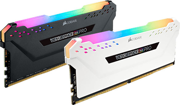 Corsair, Vengeance, RGB, PRO, Light, Enhancement, Kit, Black, -, No, DRAM, Memory, &, are, Meant, for, Aesthetic, Use, Only,