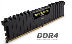 Corsair, Vengeance, LPX, 8GB, (1x8GB), DDR4, 2666MHz, C16, Desktop, Gaming, Memory, Black,