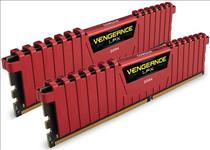 Corsair, Vengeance, LPX, 8GB, (2x4GB), DDR4, 2400MHz, C14, Desktop, Gaming, Memory, Red,