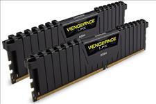 Corsair, Vengeance, LPX, 8GB, (2x4GB), DDR4, 2400MHz, C14, Desktop, Gaming, Memory, Black,