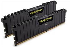 Corsair, Vengeance, LPX, 128GB, (4x32GB), DDR4, 2400MHz, C16, 16-16-16-39, 1.2V, XMP, 2.0, Desktop, Gaming, Memory, Black, AMD, Optimized,
