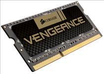Corsair, 4GB, (1x4GB), DDR3, SODIMM, 1600MHz, Vengeance, Black, 1.5V, Notebook, Memory, RAM,