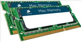 Corsair, 8GB, (2x4GB), DDR3, SODIMM, 1066MHz, 1.5V, Memory, for, MAC, Notebook, Memory, RAM,