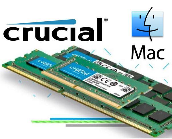 Crucial, DDR3, 4GB, 1600Mhz, (PC-12800), CL11, Unbuffered, Non-ECC, SODIMM, for, Mac, 204pin, [CT4G3S160BM],