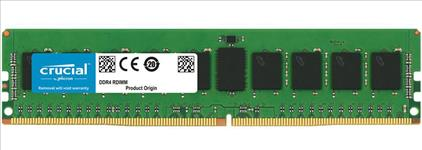 Crucial, DDR4, 32GB, 2666Mhz, (PC-21300), CL19, DR, x4, Registered, ECC, RDIMM, [CT32G4RFD4266],