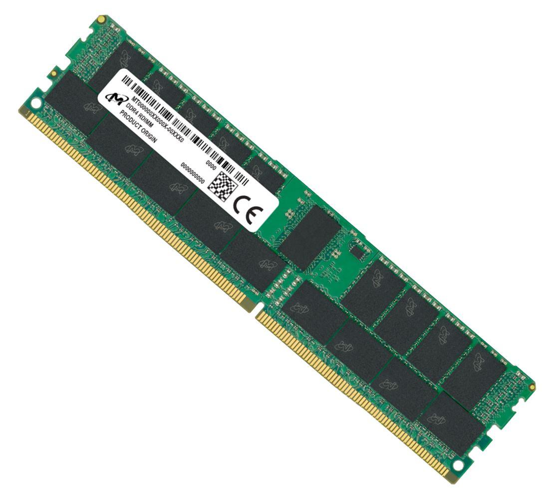 Micron, 64GB, (1x64GB), DDR4, RDIMM, 2933MHz, CL21, 2Rx4, ECC, Registered, Server, Memory, 3yr, wty,