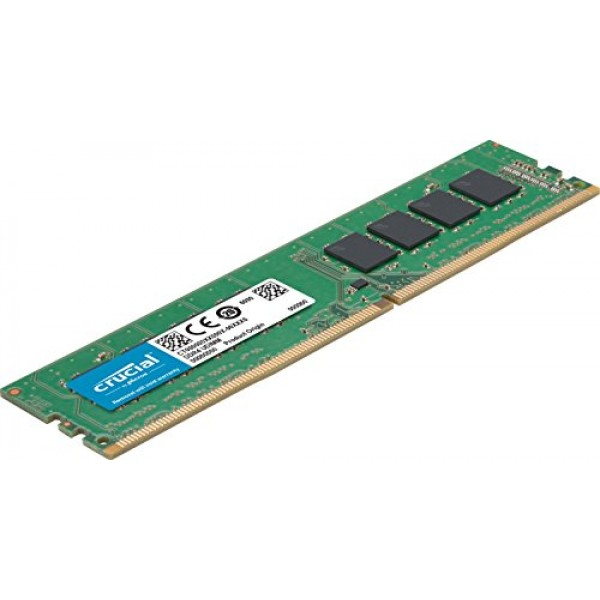 Crucial, 16GB, (1x16GB), DDR4, UDIMM, 3200MHz, CL22, 1.2V, Dual, Ranked, x8, Single, Stick, Desktop, PC, Memory, RAM,