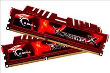 G.SKILL, RipjawsX, 8GB, (2x4GB), DDR3, 1600Mhz, C9, 1.5V, Gaming, Memory, LS,