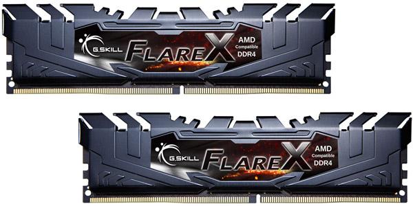 G.SKILL, Flare, X, 16GB, (2x8GB), DDR4, 2400Mhz, C15, 1.2V, Gaming, Memory, AMD, Ryzen, LS,