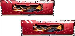 G.SKILL, Ripjaws4, 16GB, (2x8GB), DDR4, 2400Mhz, C15, 1.2V, Gaming, Memory, Red, LS,