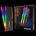 GIGABYTE, AORUS, RGB, MEMORY, 16GB, KIT, (2x, 8GB), DDR4, 3333MHZ,