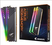 GIGABYTE, AORUS, RGB, MEMORY, 16GB, KIT, (2x, 8GB), DDR4, 3600MHZ,