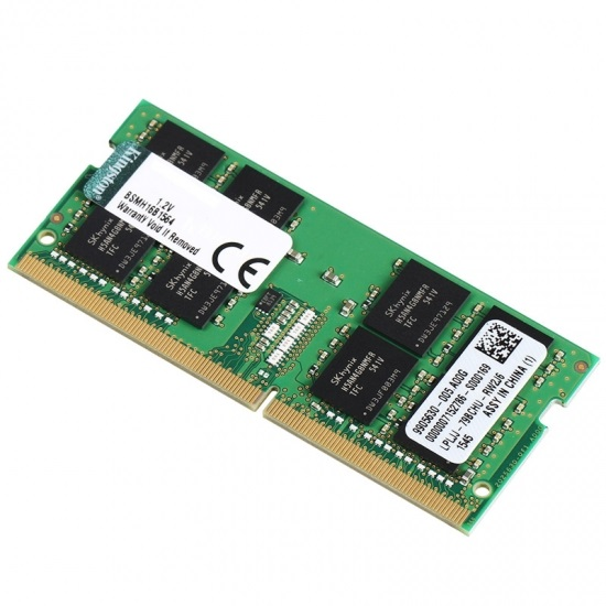 KINGSTON, 4GB, DDR4-2400, NON-ECC, SODIMM, CL17, 1RX16,