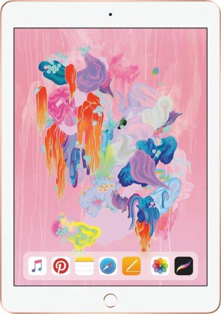 Apple, iPad, 9.7, 32GB, Gold, 4GX, Tablet, G6,